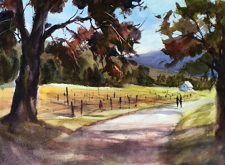 Walking in Wine Country by Judith Levins