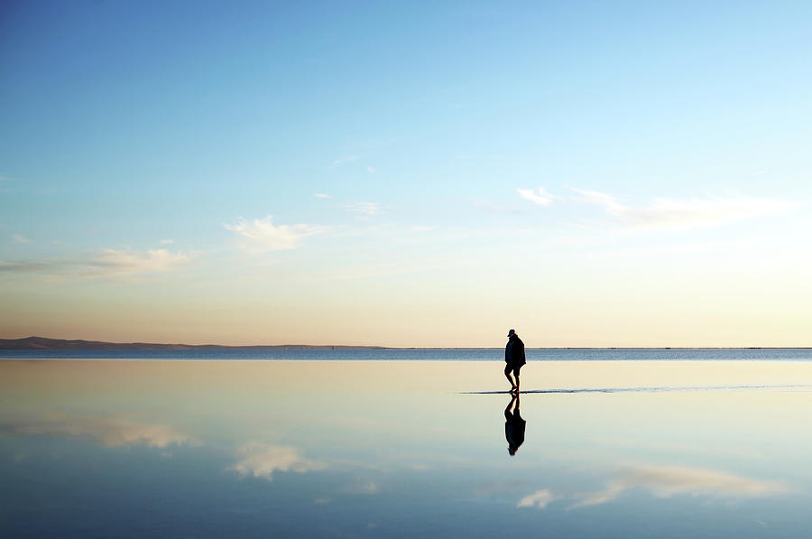 Walking On The Water Photograph by Azsoslumakarna