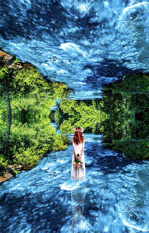 Walking through the mirror by Jonny D