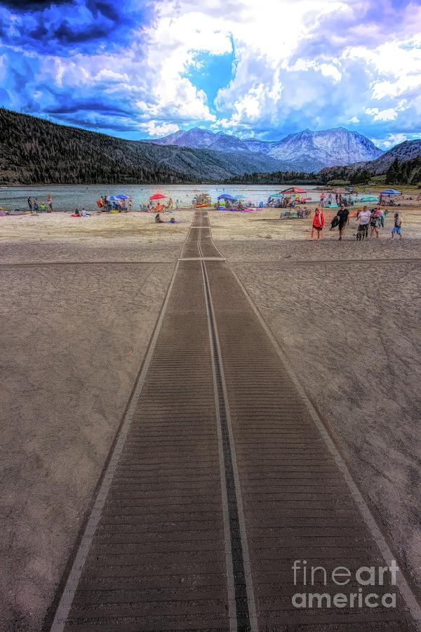 Walkway to June Lake by Joe Lach