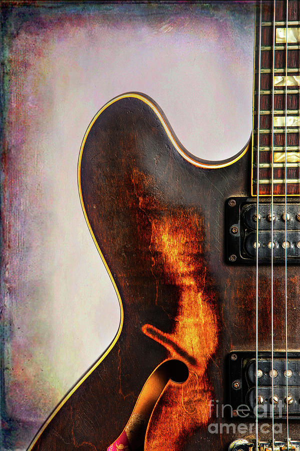 Wall Art Gibson Guitar Art 1744.31 by M K Miller