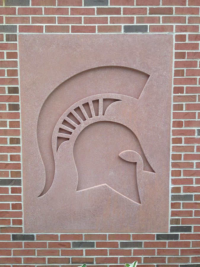 Sparty Photograph - Wall by Joseph Yarbrough
