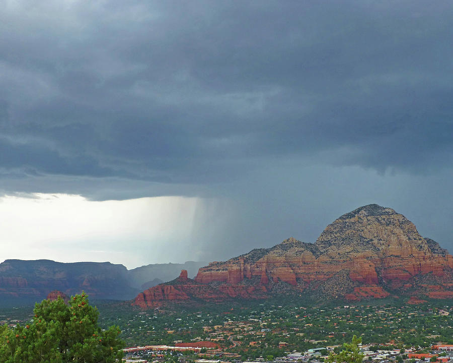 Wall of Rain over Sedona AZ Red Rock by Toby McGuire