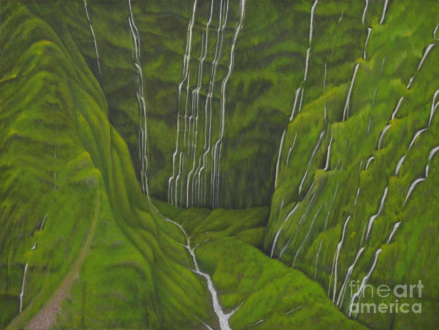 Wall of Tears - Kauai Hawaii by Mary Deal