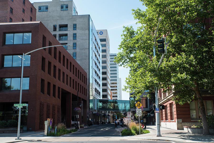 Wall Street in Spokane by Tom Cochran