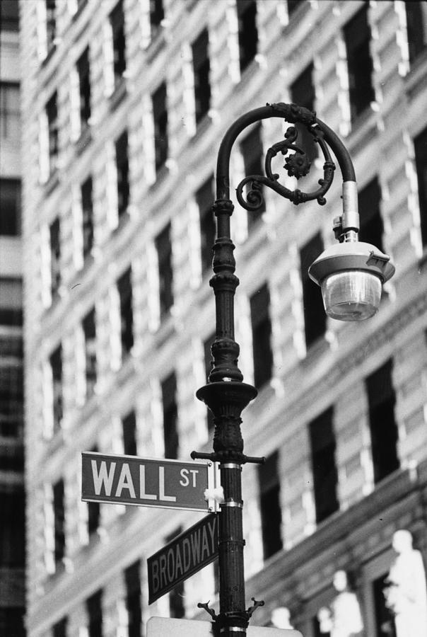 Wall Street Photograph by Keystone