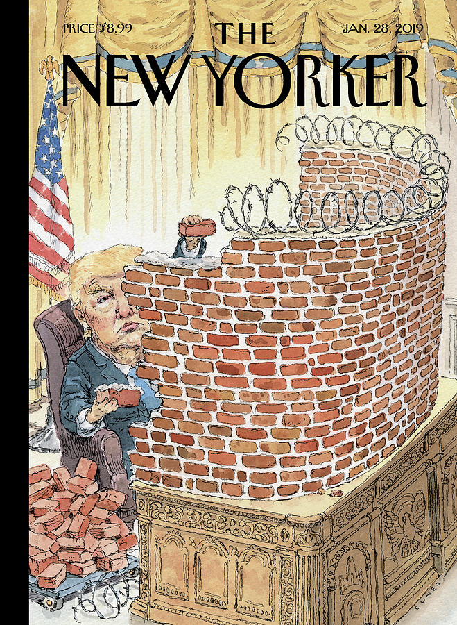 Walled In Painting by John Cuneo