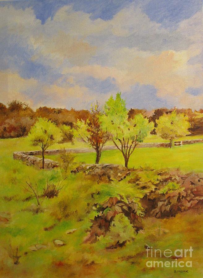 Walled Pasture by Barbara Moak