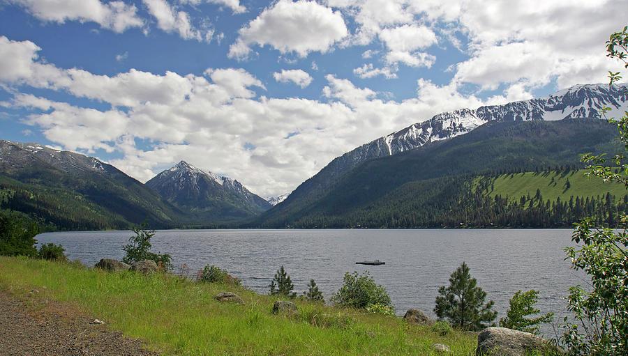 Wallowa Lake And Mountains Photograph by Bruceblock