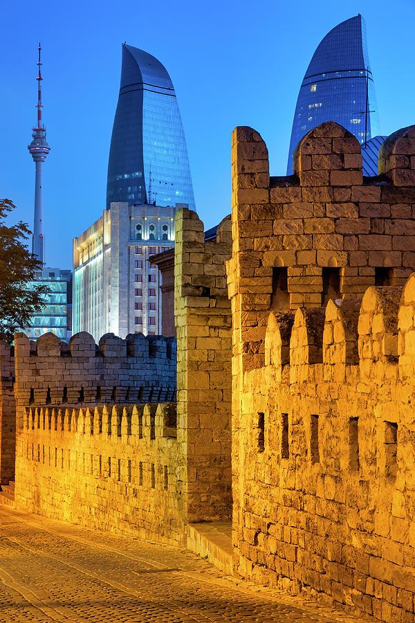 Walls of Icheri Sheher by Fabrizio Troiani