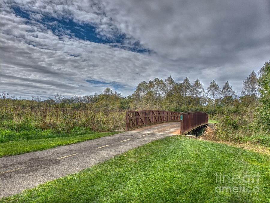 Walnut Woods Bridge - 1 by Jeremy Lankford