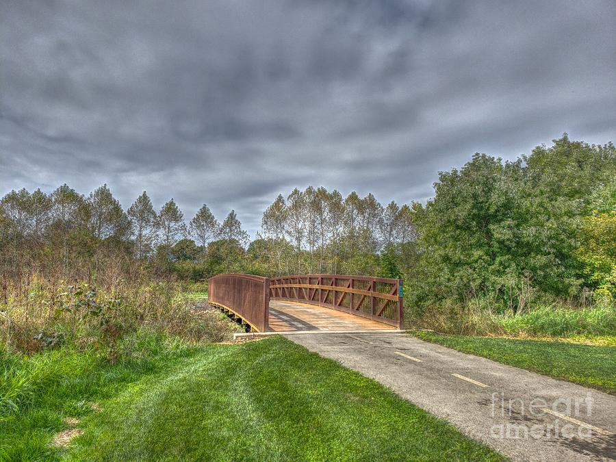 Walnut Woods Bridge - 2 by Jeremy Lankford