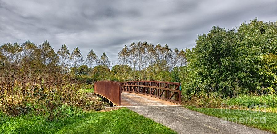 Walnut Woods Bridge - 3 by Jeremy Lankford