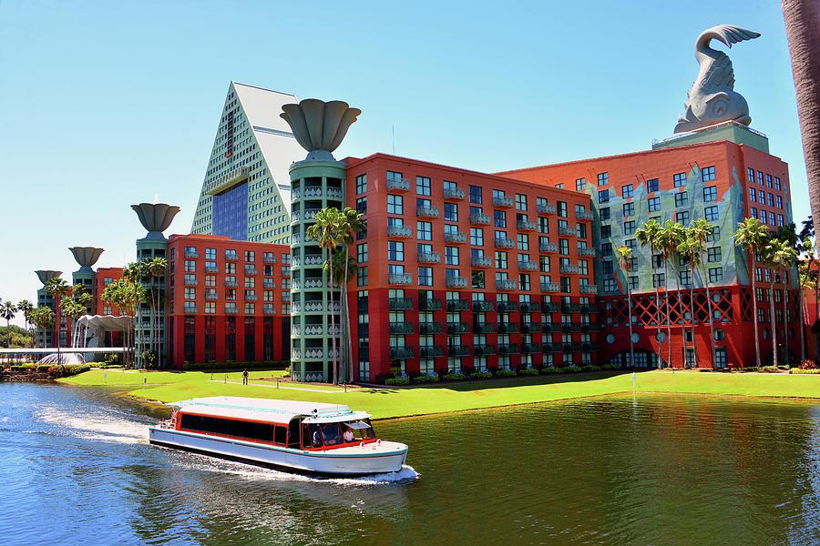 Walt Disney World Dolphin Resort architecture by David Lee Thompson