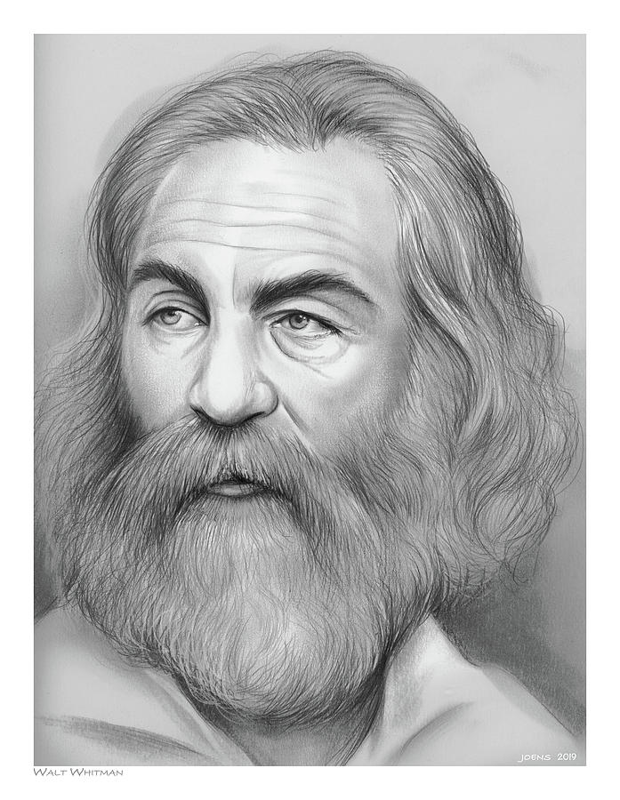 Walt Whitman Drawing