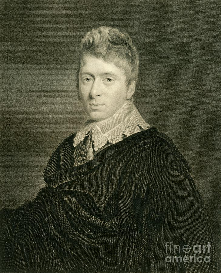Walter Burrell Drawing by Print Collector