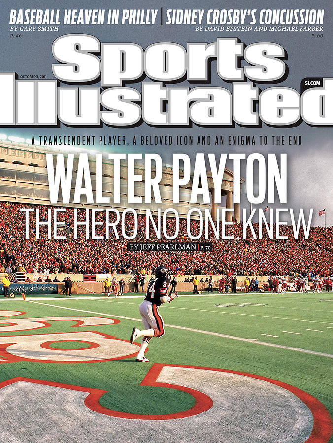 Walter Payton The Hero No One Knew Sports Illustrated Cover Photograph by Sports Illustrated