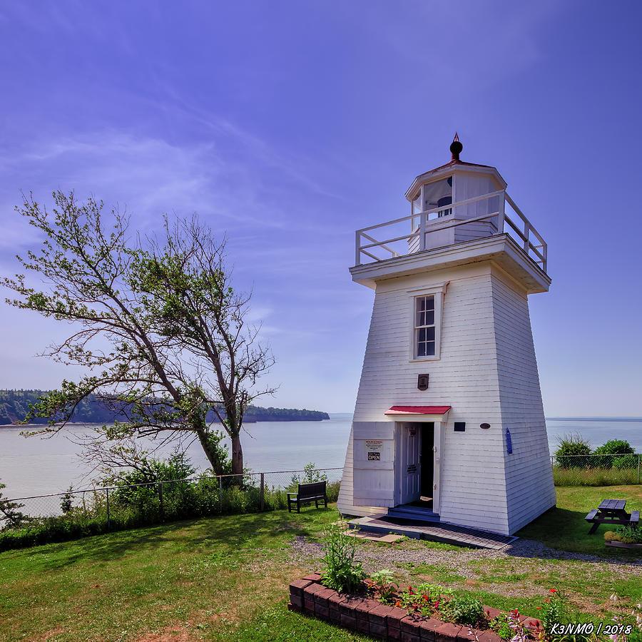 Architecture Digital Art - Walton Lighthouse by Ken Morris