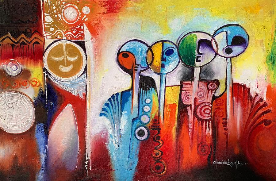 Wanderers by Olumide Egunlae