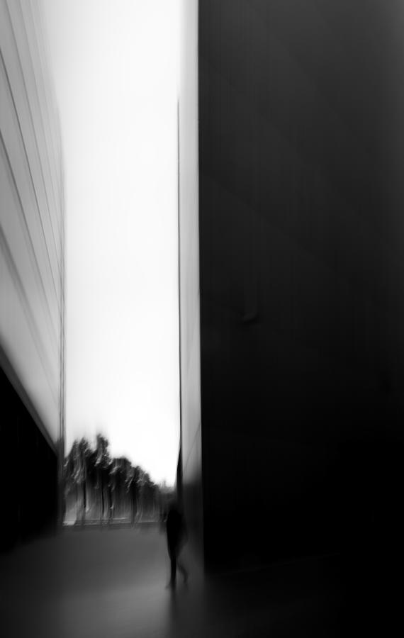 Architecture Photograph - Wandering Around by Besnik Mehmed