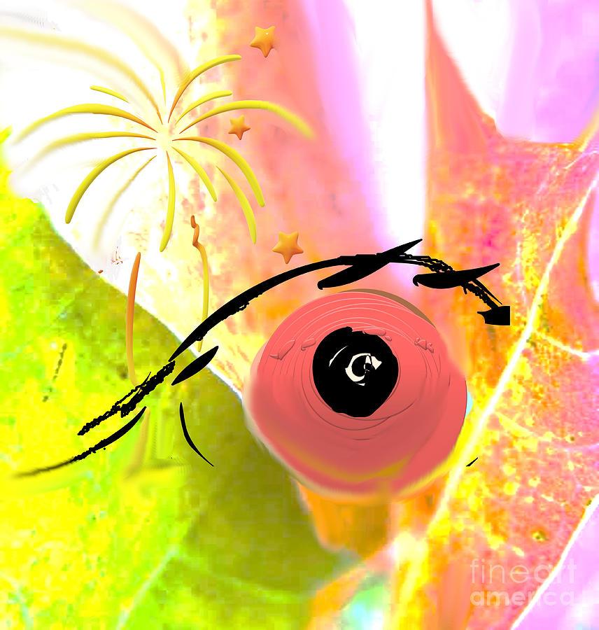 Wandering Eye Painting