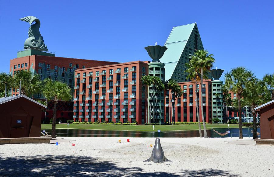 Walt Disney World Swan and Dolphin Resorts by David Lee Thompson