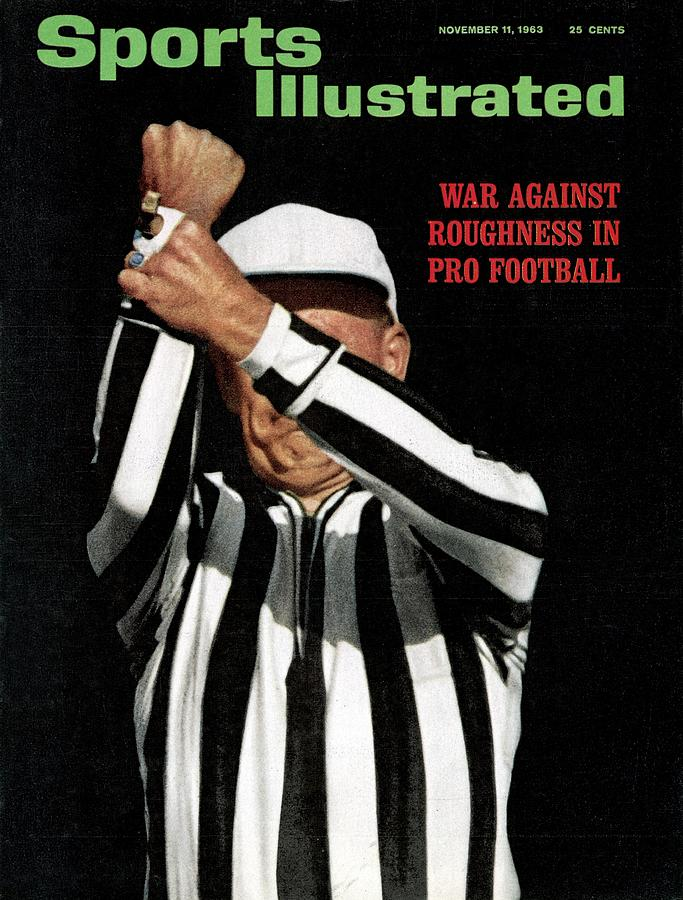 War Against Roughness In Pro Football Sports Illustrated Cover Photograph by Sports Illustrated