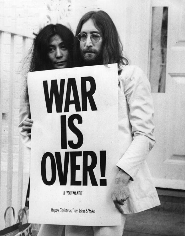 War Is Over Photograph by Frank Barratt