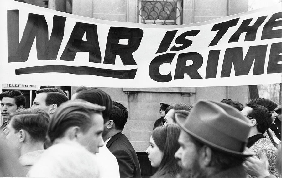 War Is The Crime Photograph by Fred W. McDarrah