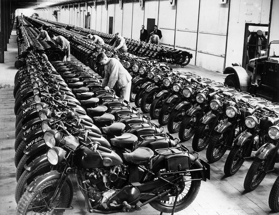 War Time Depot Photograph by Fox Photos