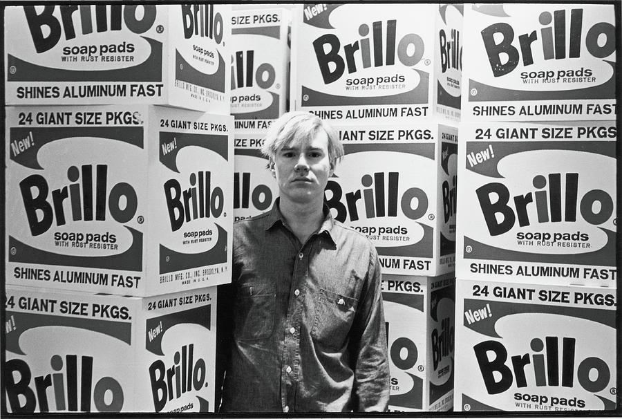 Warhol & Brillo Boxes At Stable Gallery Photograph by Fred W. McDarrah