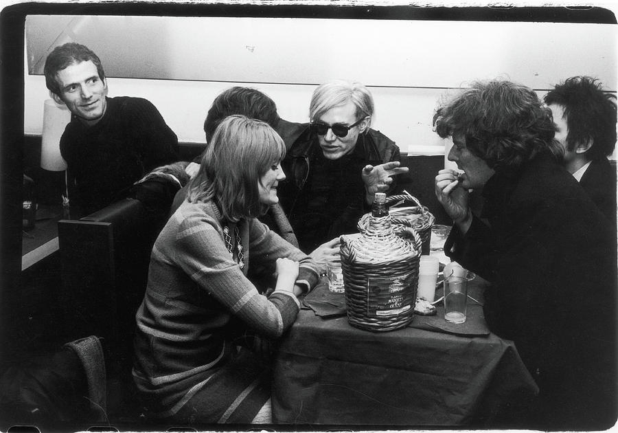 Warhol & Co. At Maxs Kansas City Photograph by Fred W. McDarrah