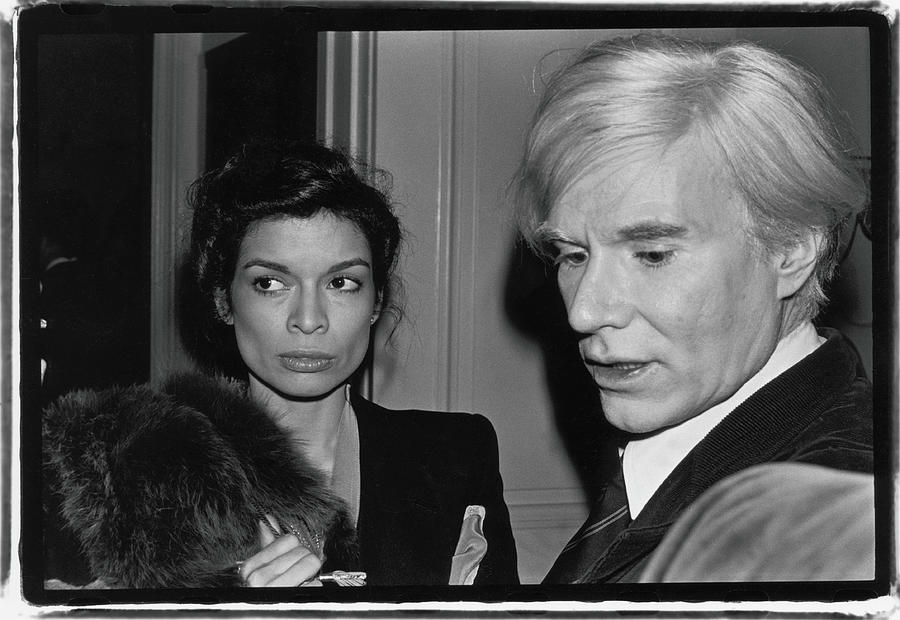 Warhol & Jagger Attend Event Photograph by Fred W. McDarrah