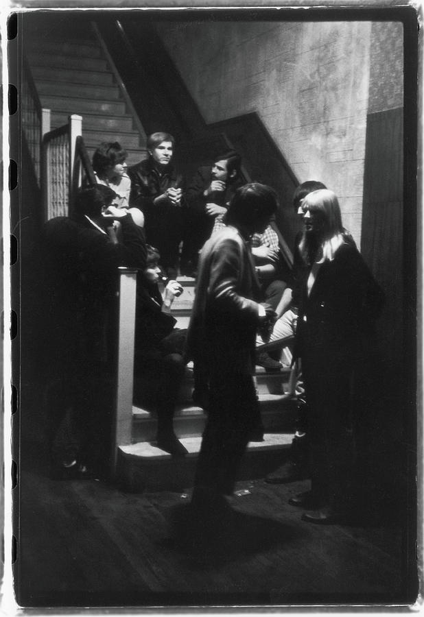Warhol & Velvet Underground At The Dom Photograph by Fred W. McDarrah