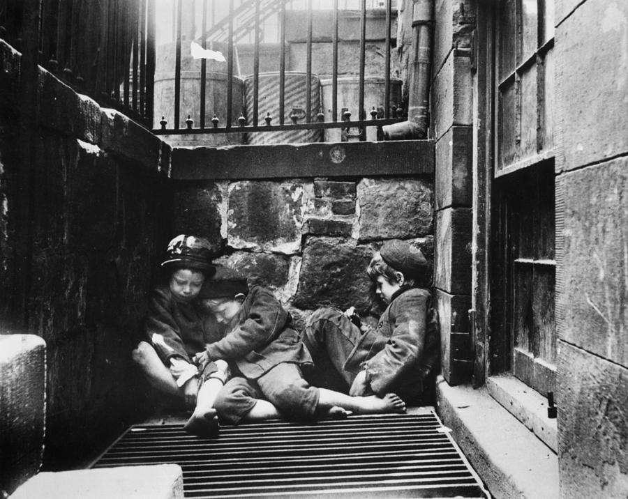 Warm Friends Photograph by Jacob A. Riis