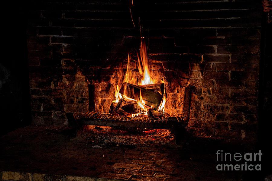 Warm Hearth by Kathy McClure