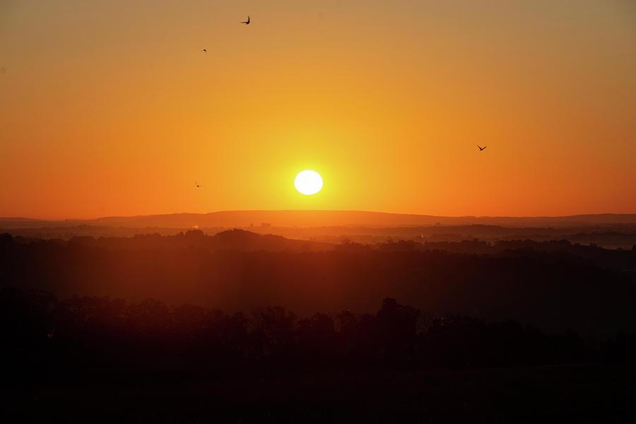 Warm Sunrise Photograph