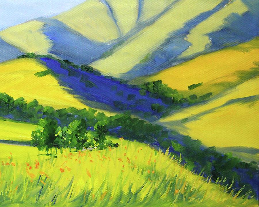 Warm Valley Landscape by Nancy Merkle