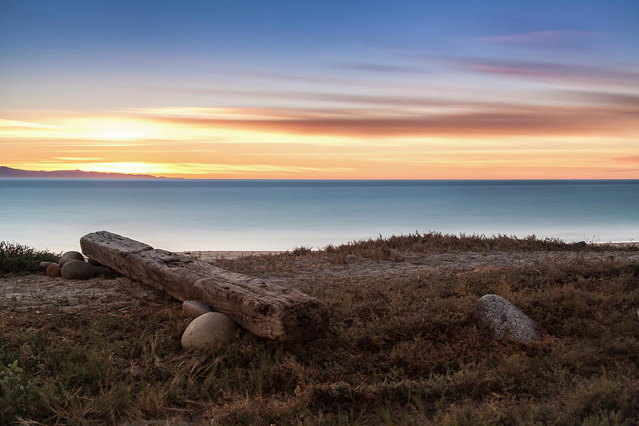 Driftwood Photograph - Warm Winter?s Eve by Chris Moyer