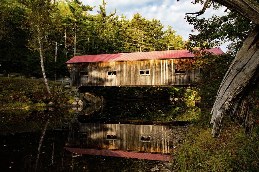 Warner New Hampshire Covered Bridge by Jeff Folger