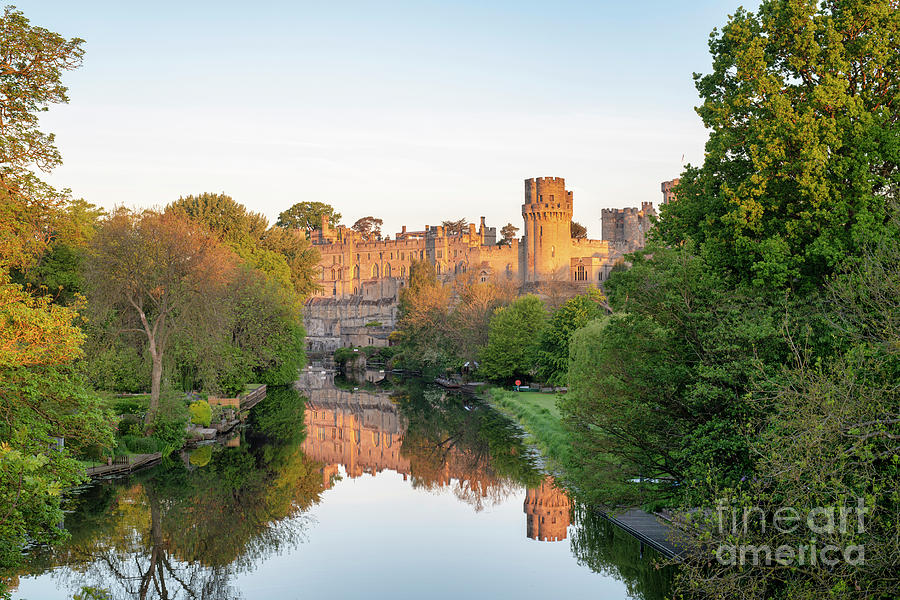 Warwick Castle at Sunrise by Tim Gainey