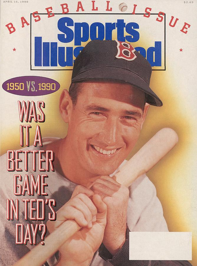 Was It A Better Game In Teds Day Sports Illustrated Cover Photograph by Sports Illustrated
