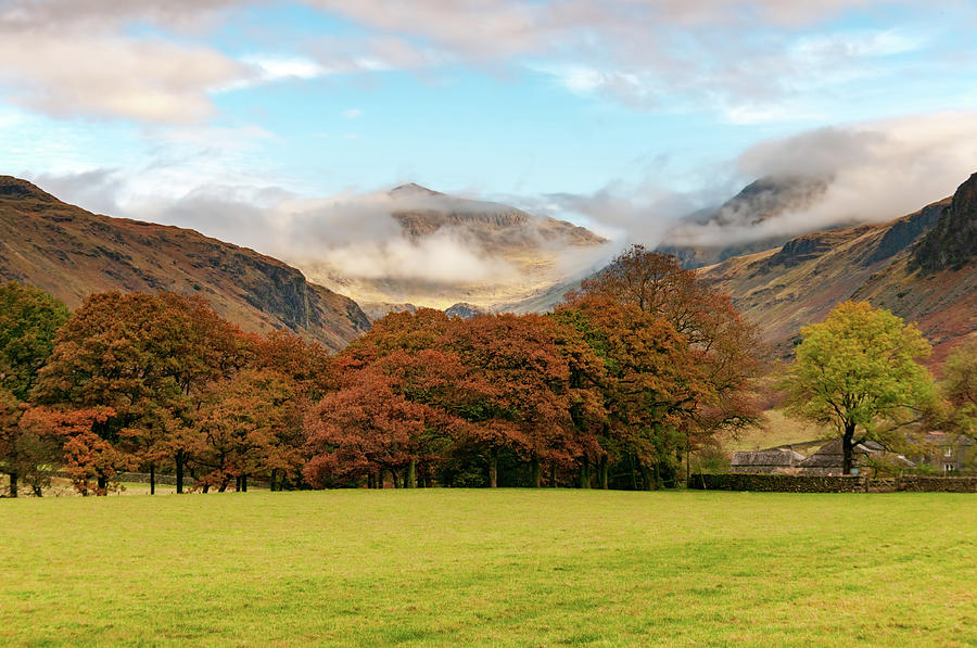 Wasdale Head Mixed Media - Wasdale by Smart Aviation