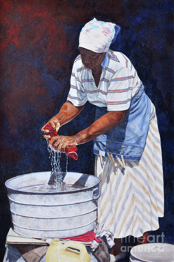 Wash Day by Nicole Minnis