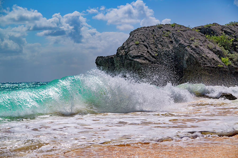 Bermuda Photograph - Wash Your Worries Away by Betsy Knapp