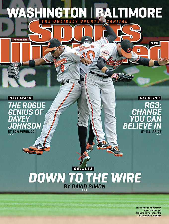Washington - Baltimore The Unlikely Sports Capital Sports Illustrated Cover Photograph by Sports Illustrated