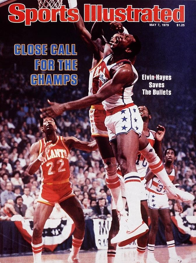 Washington Bullets Elvin Hayes, 1979 Nba Eastern Conference Sports Illustrated Cover Photograph by Sports Illustrated