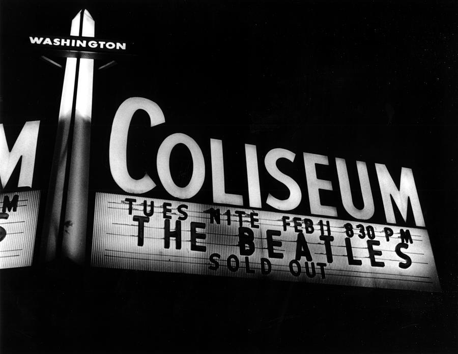 Music Photograph - Washington Coliseum by Michael Ochs Archives