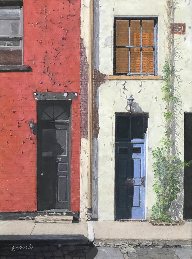 Washington Mews by Harvey Rogosin