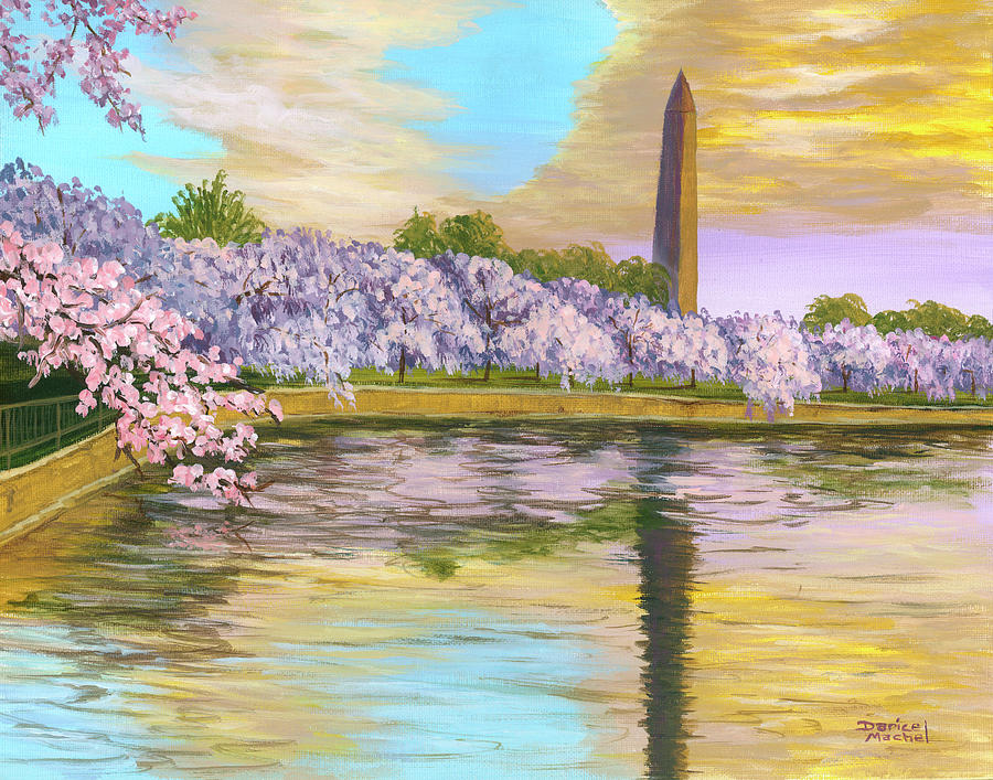 Washington Monument by Darice Machel McGuire